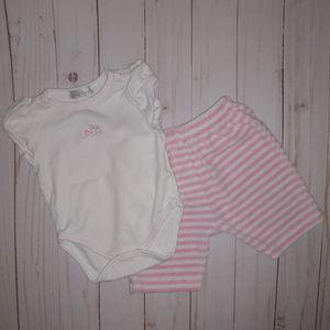 7ebd2bb47 Kissy Kissy Girls Outfit Size 0-3 Months